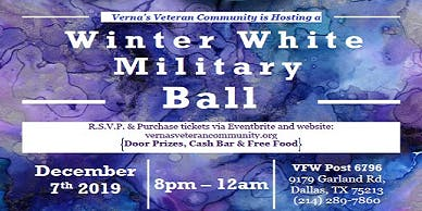 Vernas Veteran Winter Military Ball