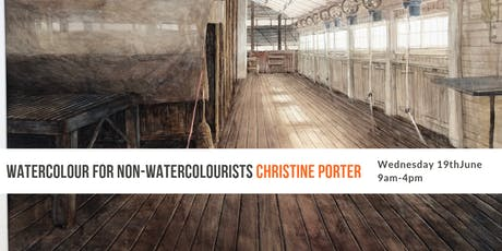Watercolour For Non-Watercolourists with Christine Porter tickets