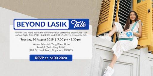 Beyond LASIK Talk (Tue, 20 Aug 2019)