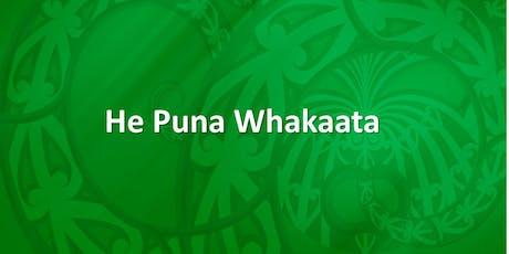 He Puna Whakaata Therapeutic Programme - 29 July 2019 tickets