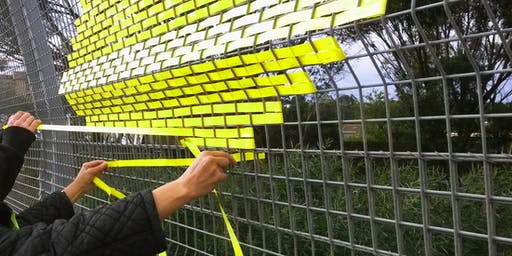 Weave It - Community Fence Weaving