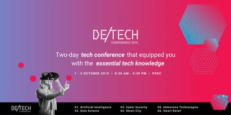 deTECH Conference 2019 tickets