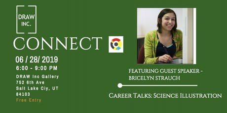 Connect at DRAW Inc [Career Talks: Science Illustration] tickets