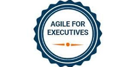 Agile For Executives Training in Chicago on  Sep 20th, 2019 tickets