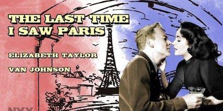 Vintage Film - The Last Time I Saw Paris - Tiaro Library tickets