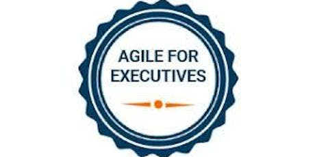 Agile For Executives Training in San Francisco on  Sep 20th, 2019 tickets