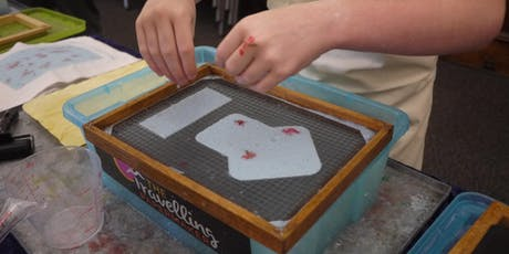 Beginner's Papermaking - School Holiday Program - 10.30am, Friday 19th July 2019. tickets