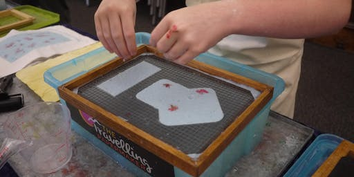 Beginner's Papermaking - School Holiday Program - 10.30am, Friday 19th July 2019.