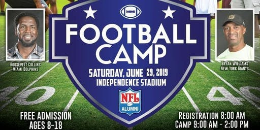 Roosevelt Collins Hometown Celebrity Football Camp