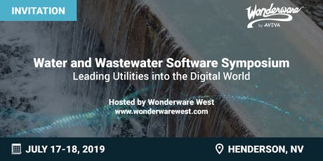 Water and Wastewater Software Symposium tickets
