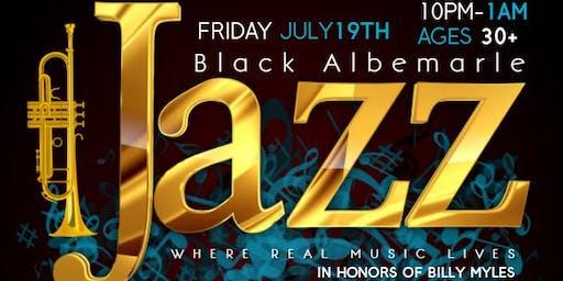 BLACK ALBEMARLE JAZZ