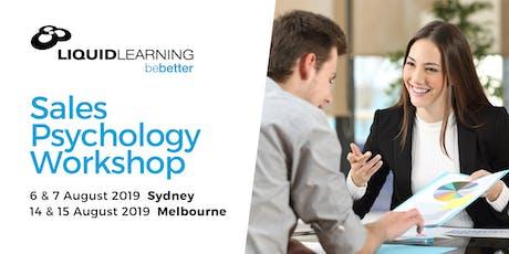 Sales Psychology Workshop tickets