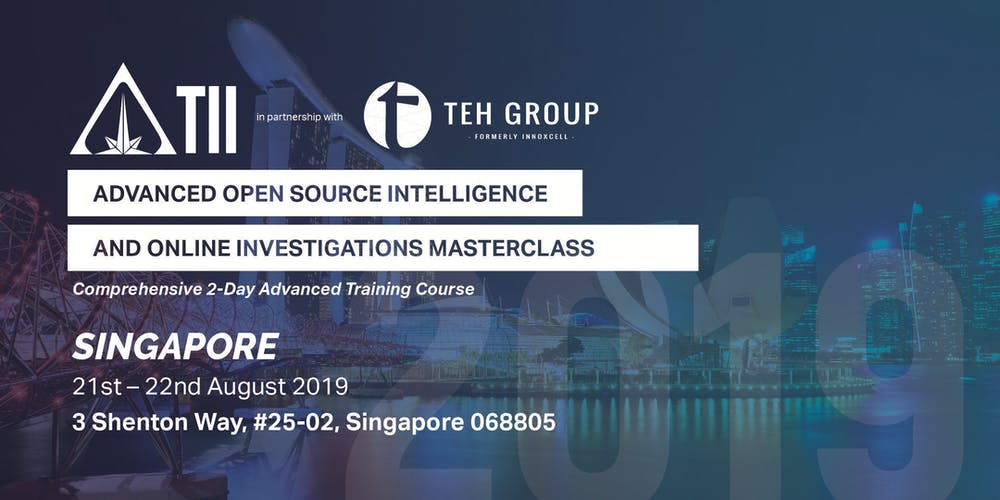 Advanced Open Source Intelligence & Online Investigations
