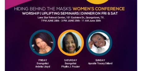 Hiding Behind The Masks Women's Conference tickets