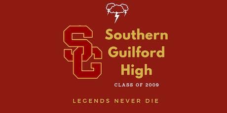 Southern Guilford High Class of 2009 Class Reunion tickets