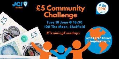 £5 Community Challenge tickets