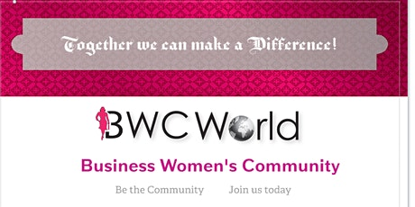 Business Women's Community Networking tickets