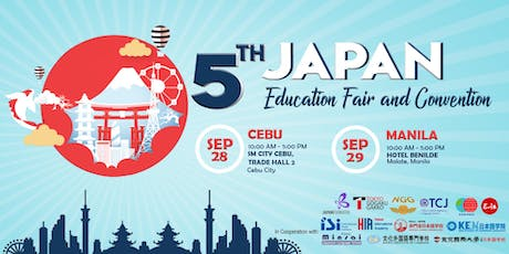 5th Japan Education Fair and Convention 2019 tickets