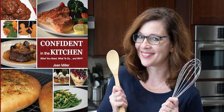 CONFIDENT in the KITCHEN - Book Signing tickets