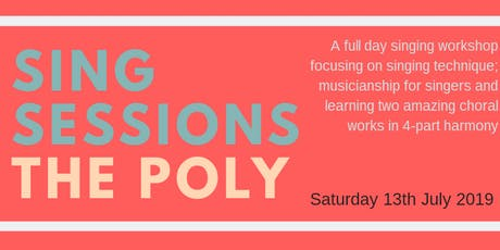 Sing Sessions - The Poly tickets