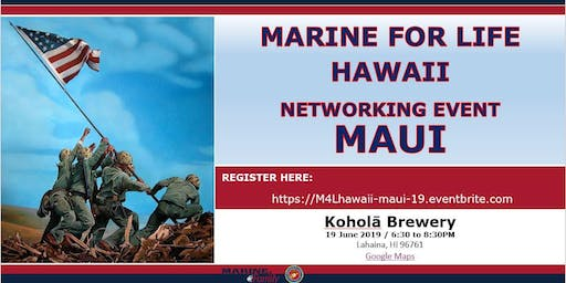 Marine for Life (M4L) Networking Event - Maui, Hawaii
