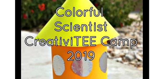 Colorful Scientist Kids Camp