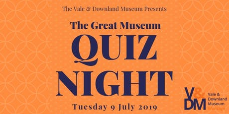 The Great Museum Quiz Night tickets
