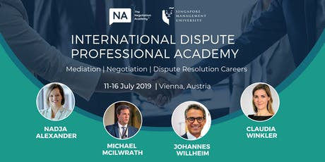 International Dispute Professional Academy 2019 tickets