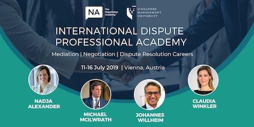 International Dispute Professional Academy 2019