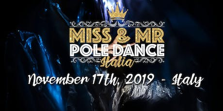 Miss & Mr Pole Dance Italia biglietti