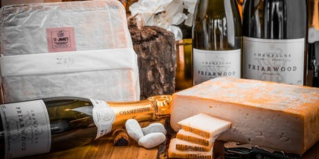 Wine & Cheese Masterclass with Friarwood Fine Wines and Heritage Cheese tickets