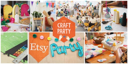 Brighton Etsy Craft Party 2019