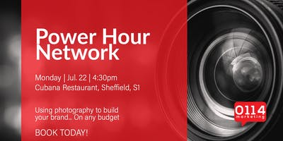 Power Hour Network: Using photography to build your brand… On any budget