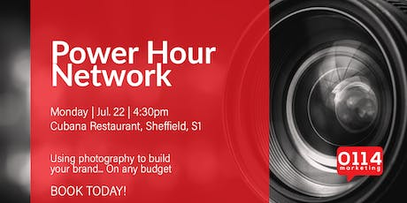 Power Hour Network: Using photography to build your brand... On any budget tickets
