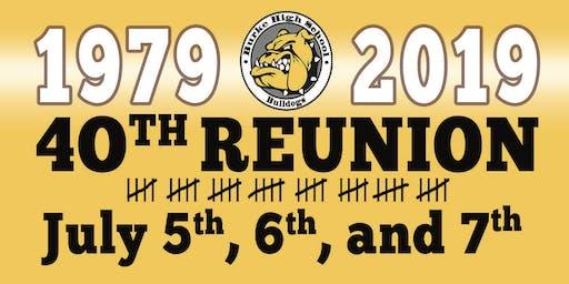 Burke Sr. High Class of 1979 (40 Year Reunion Weekend)