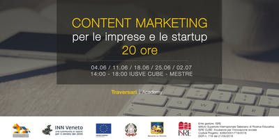 Content marketing per le imprese e le startup