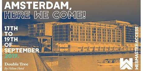 Webmaster Access Amsterdam 2019 tickets