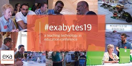 #exabytes19: Computing Education Conference tickets