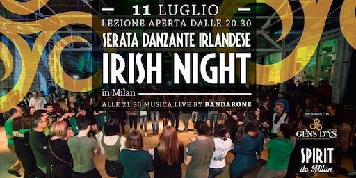 Irish Night - Serata danzante Irlandese