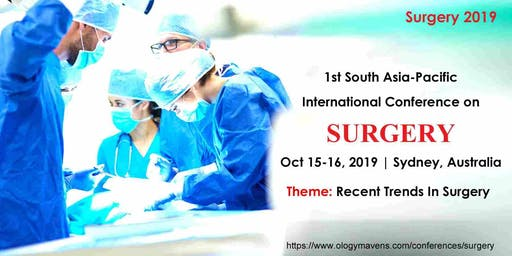 1st South Asia-Pacific International Conference on SURGERY