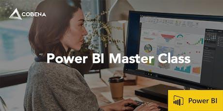 1-Day Advanced Power BI tickets