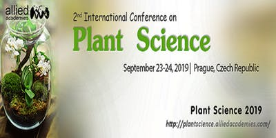 2nd International Conference on Plant Science