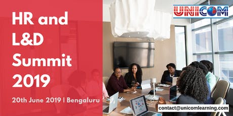 HR and Learning & Development Summit 2019 - Bangalore tickets