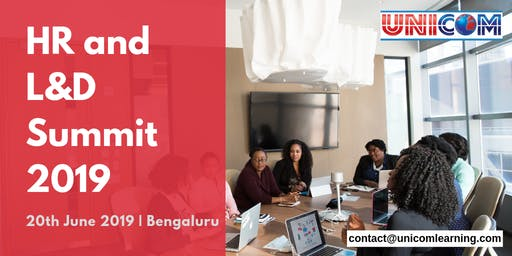 HR and Learning & Development Summit 2019 - Bangalore