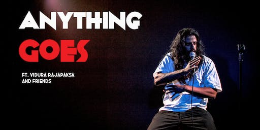 Stand-Up Comedy In English - Anything Goes ft. Vidura Rajapaksa and friends