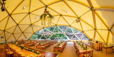 Bouquet & Bells x Event in a Tent Wedding Fayre at Hawarden Castle Pavilion