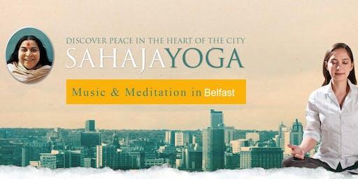 Free Sahaja Yoga Meditation Belfast