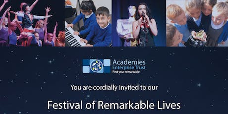 A Festival of Remarkable Lives tickets