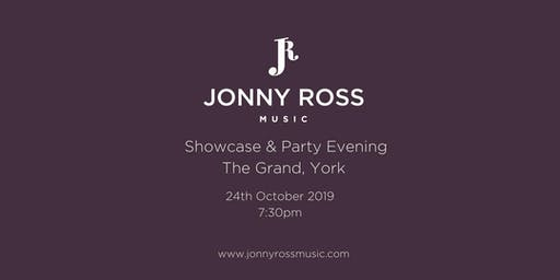 Jonny Ross Music Showcase & Party Evening