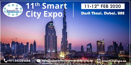 11th International Smart City Expo 2020, Dubai tickets